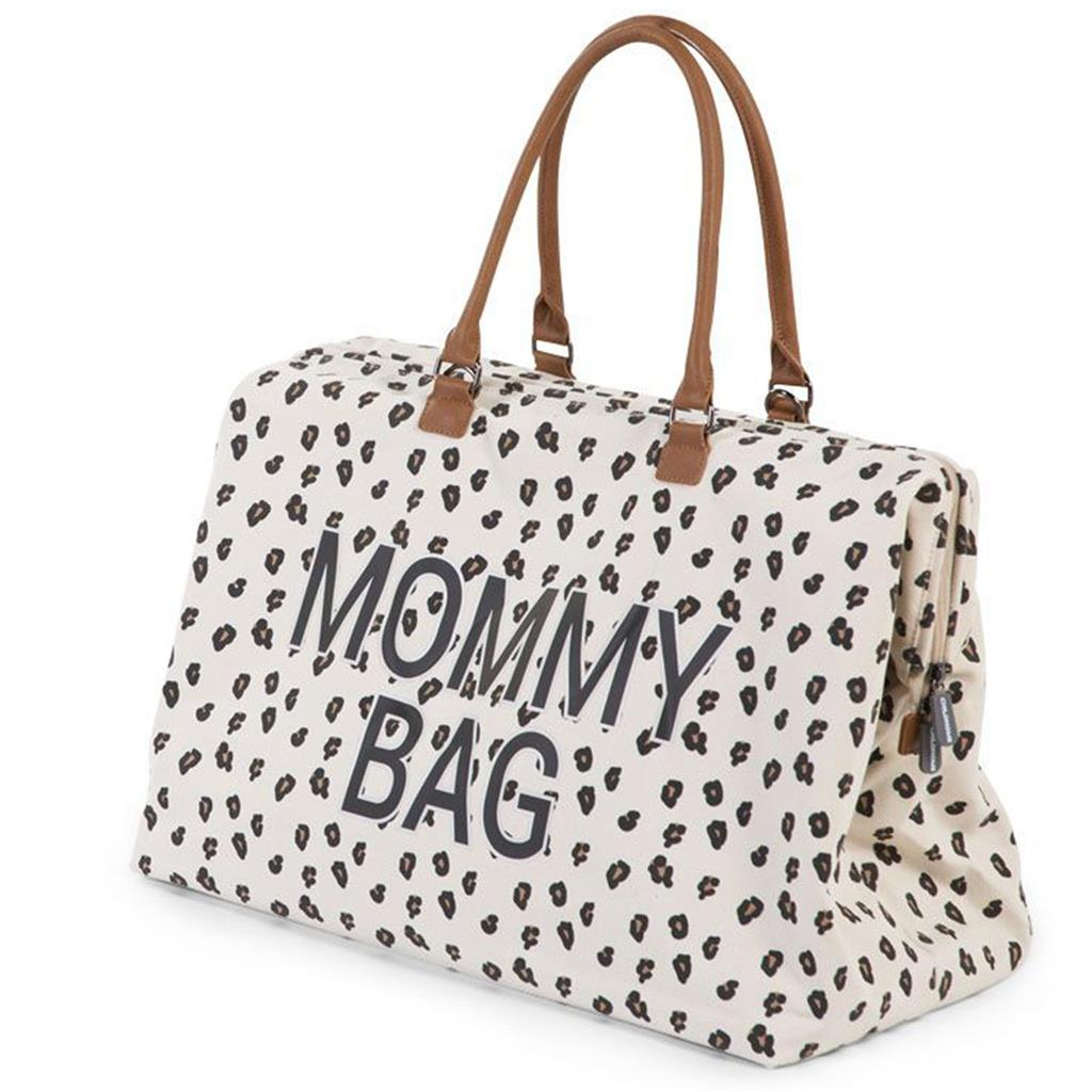 Verzorgingstas mommy bag big Childhome - leopard