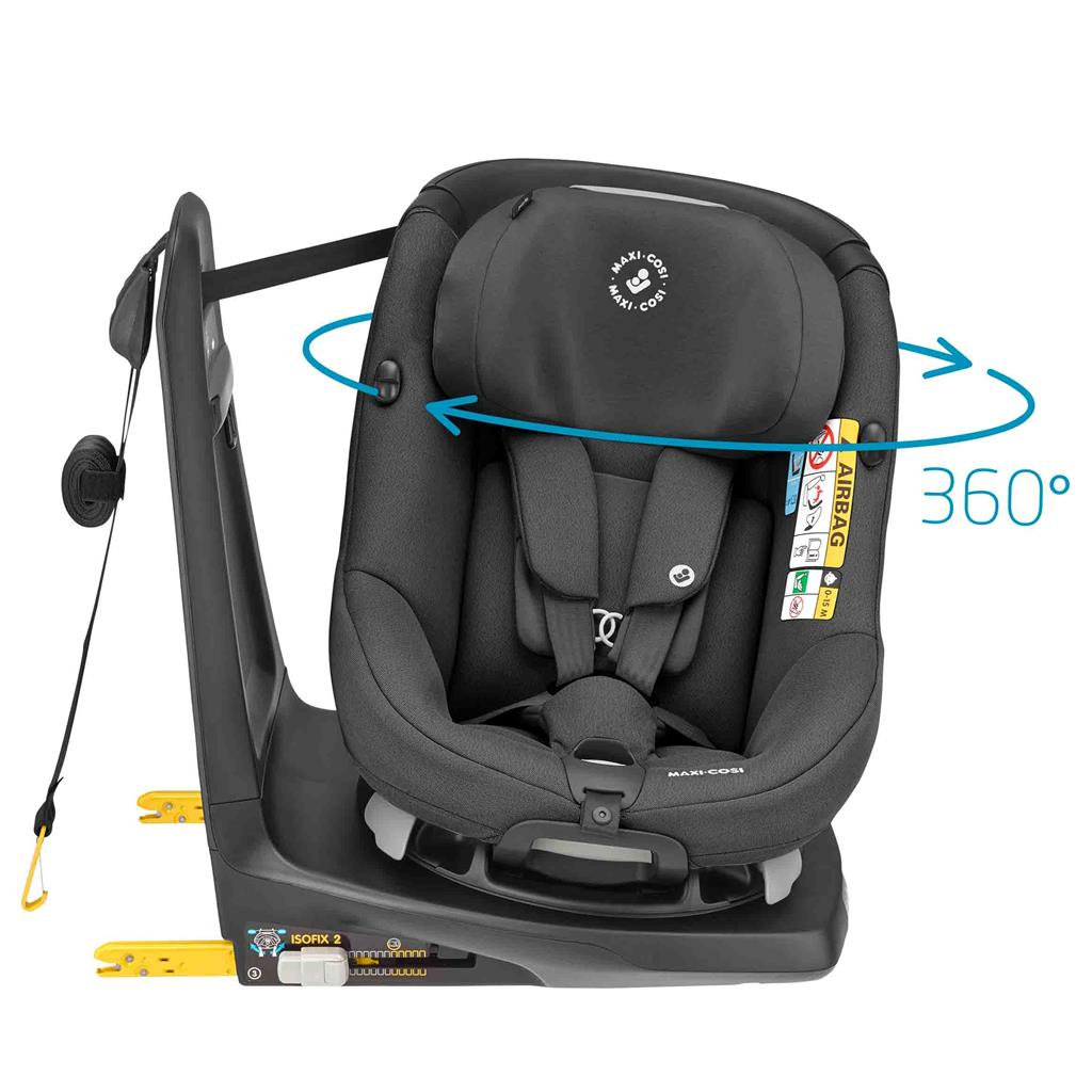 Maxi-Cosi Autozitje Axissfix - authentic black