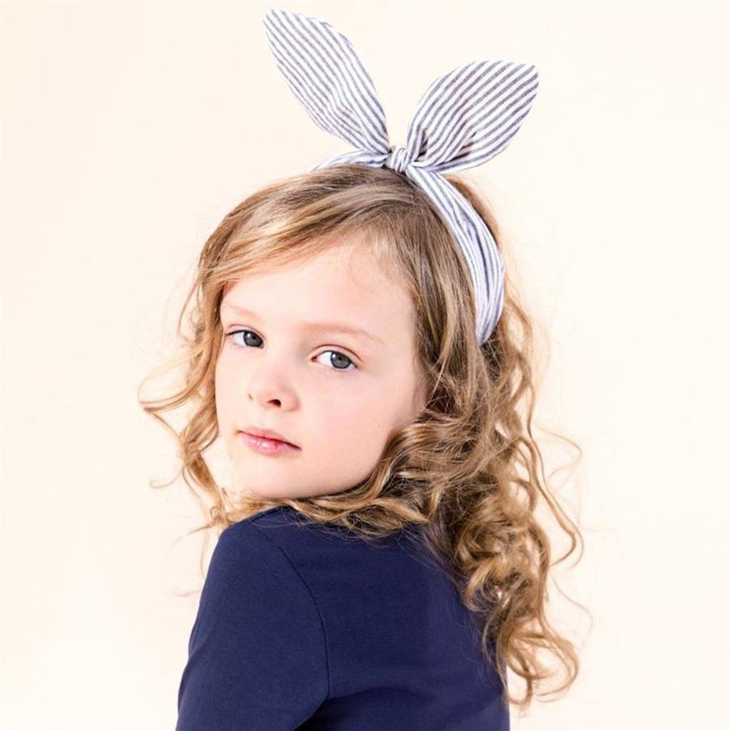 Diadeem coco bow stripes Mimi&Lula