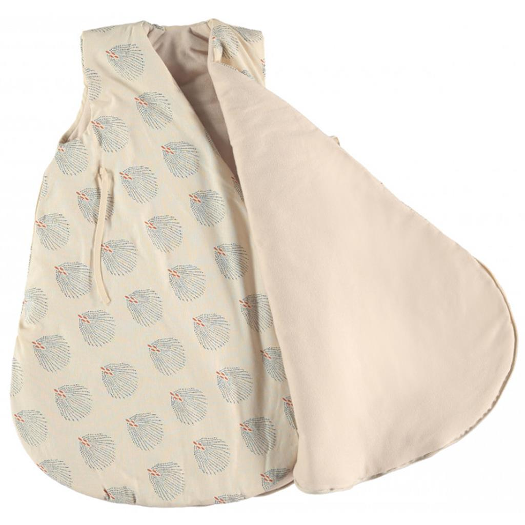 Slaapzak W cloud large (6-18m) Nobodinoz - blue gatsby - cream