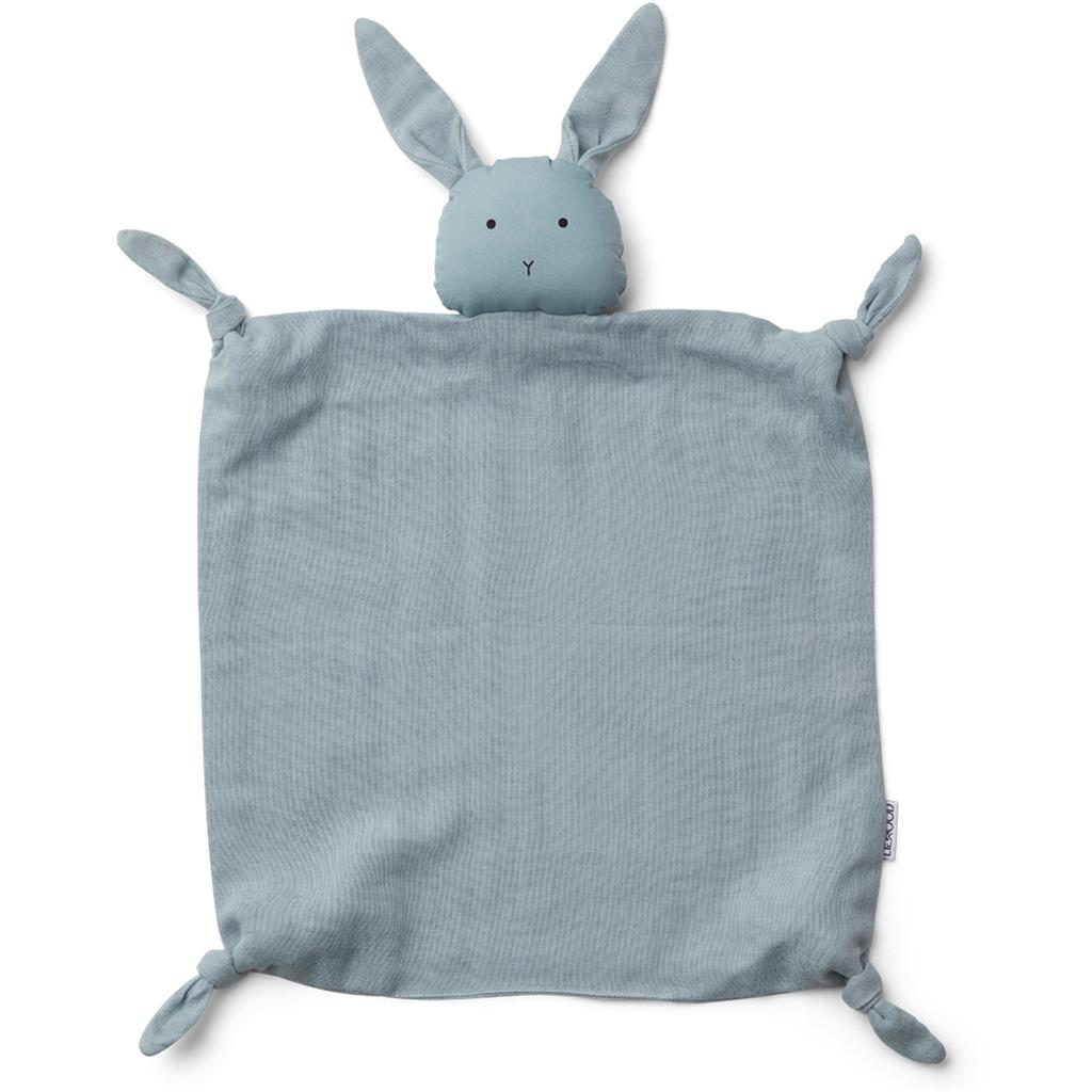 Knuffeldoek Agnete Liewood - rabbit (sea blue)