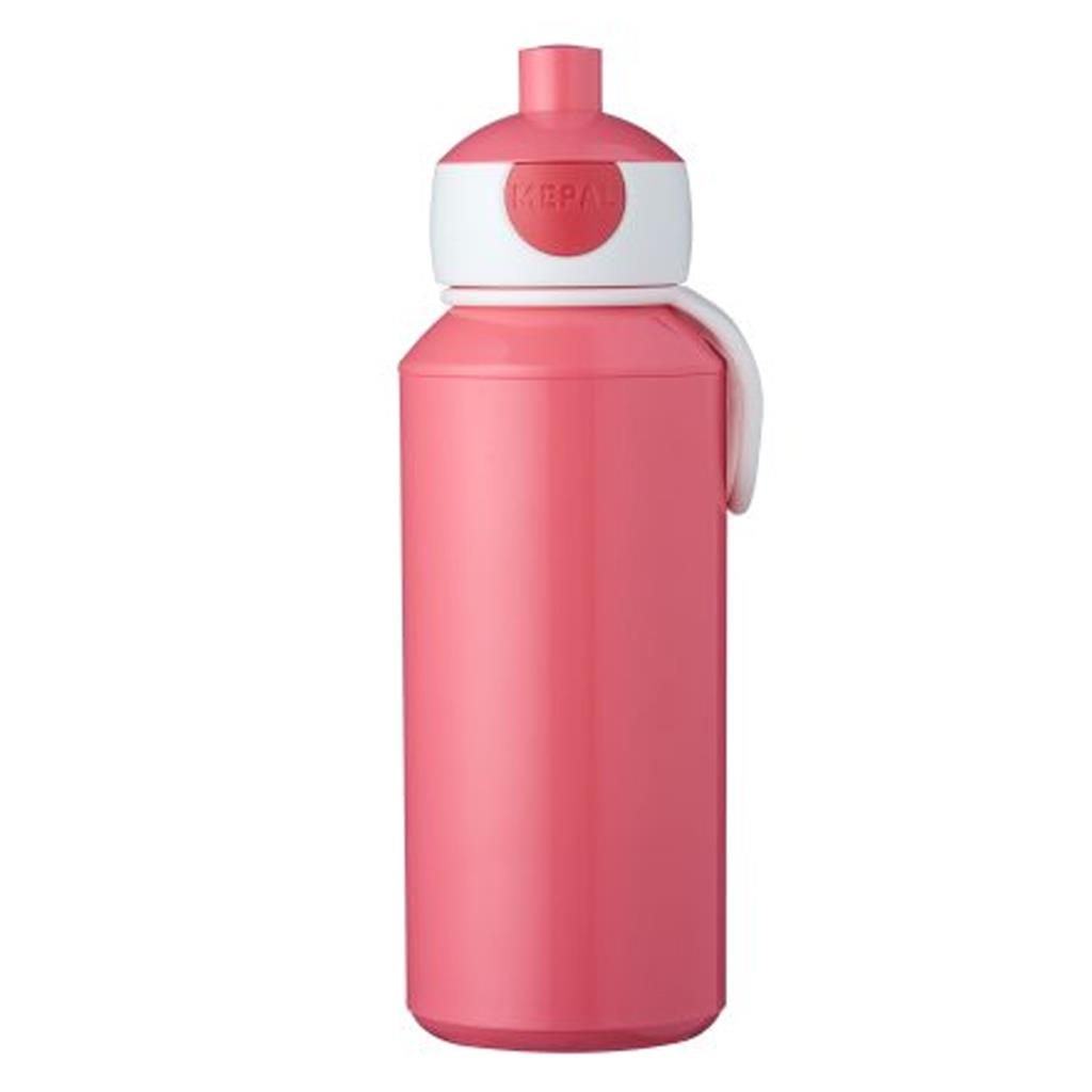 Drinkfles pop-up campus 400ml Mepal - pink