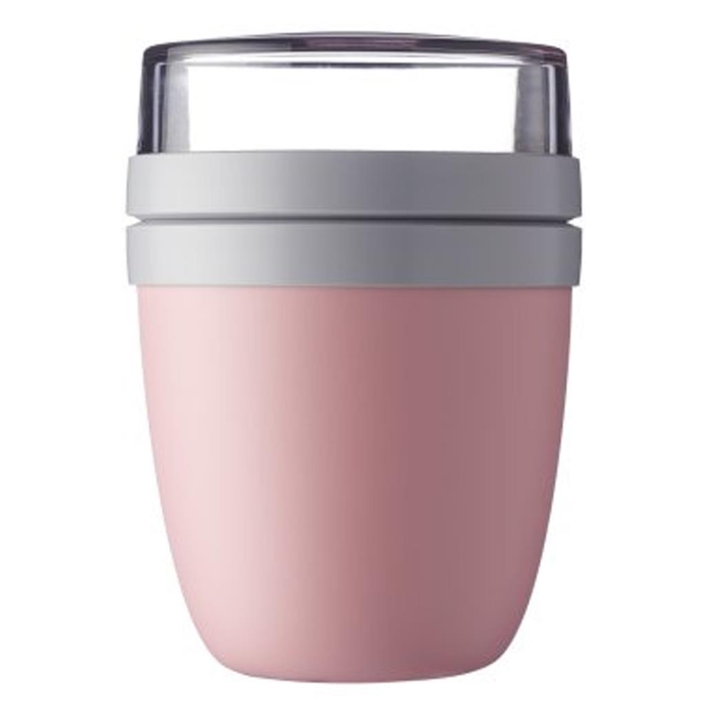 Lunchpot ellipse Mepal - nordic pink