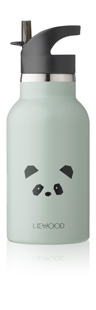 Waterfles Anker Liewood - panda (dusty mint)