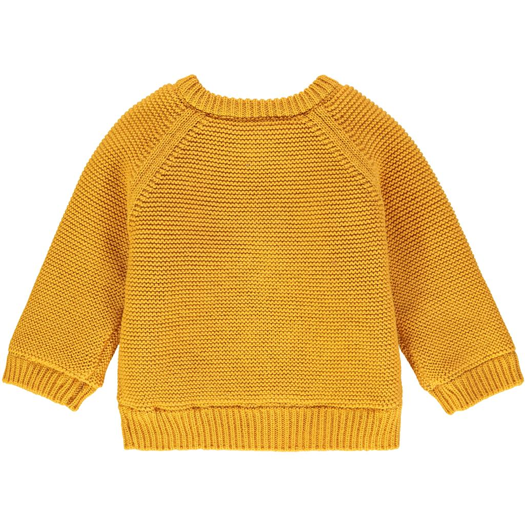 Cardigan Lou Noppies Newborn - honey yellow