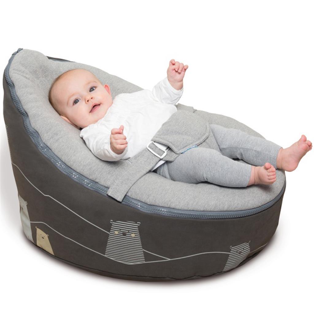 Doomoo Zitzak Te Koop.Doomoo Seat Bear Grey The Baby S Corner