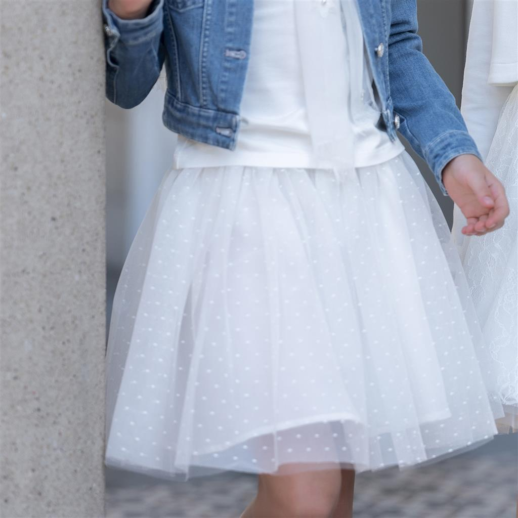 Rok tulle - offwhite
