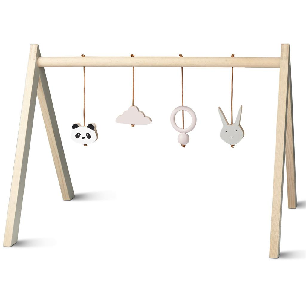 *Babygym hout Liewood - girl
