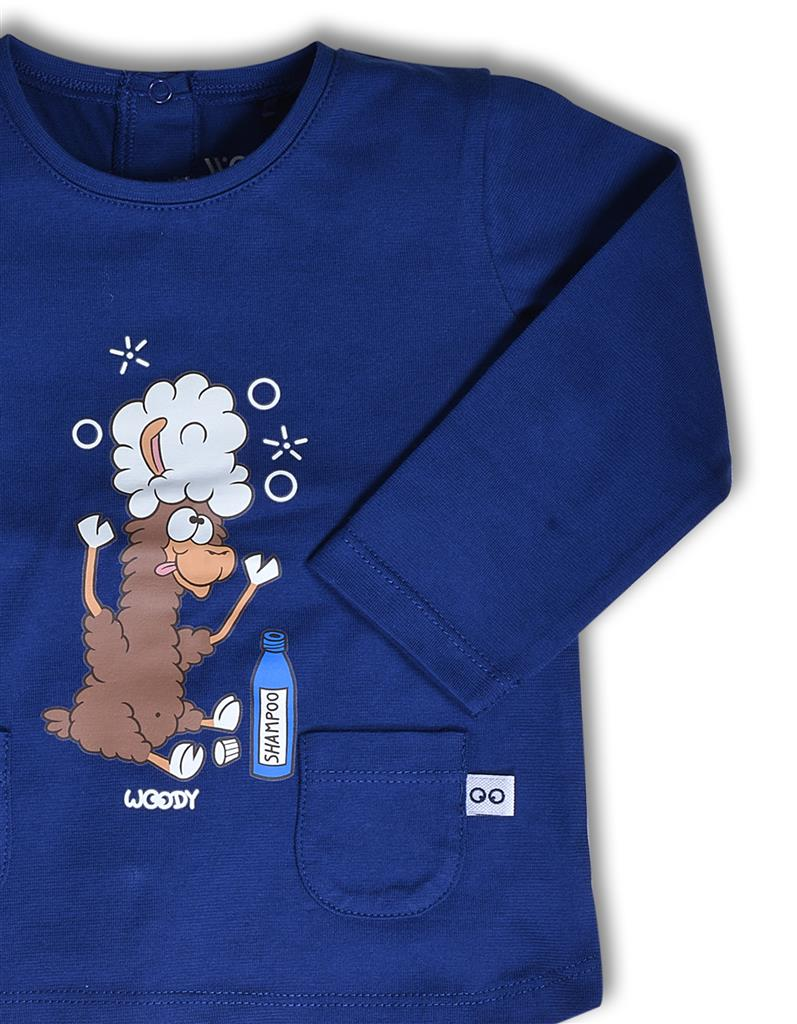 Pyjama Little Woody - donkerblauw