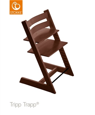 Eetstoel Tripp Trapp® Stokke® - walnut brown