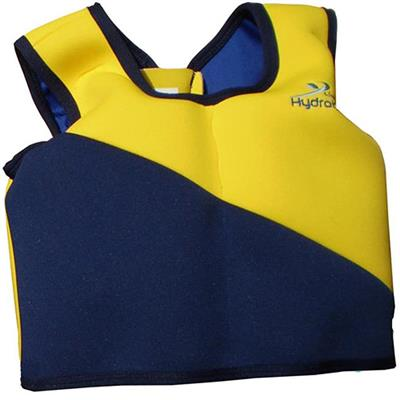 Swim trainer jacket (1-2jr) Hydrokids - geel-blauw