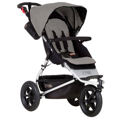 Driewieler Urban Jungle Mountain Buggy - silver