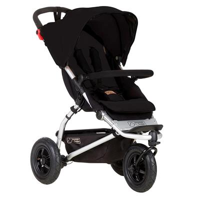 Driewieler Swift Mountain Buggy - black