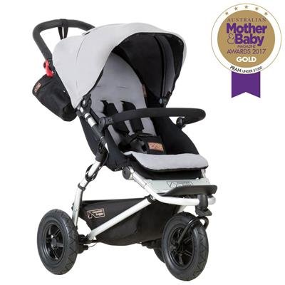 Driewieler Swift Mountain Buggy - silver