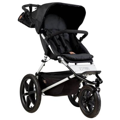 Driewieler Terrain 3.0 Mountain Buggy - onyx