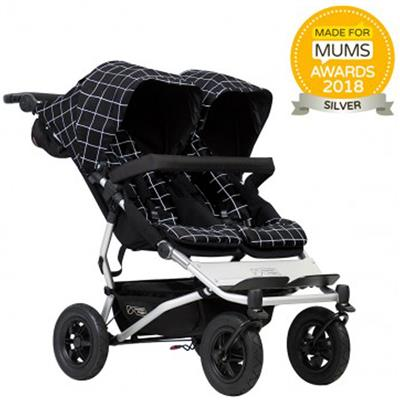 Kinderwagen duet V3 Mountain Buggy - grid