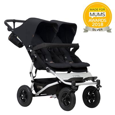 Kinderwagen duet V3 Mountain Buggy - black
