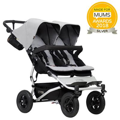 Kinderwagen duet V3 Mountain Buggy - silver