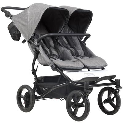 Kinderwagen duet V3 Mountain Buggy - herringbone