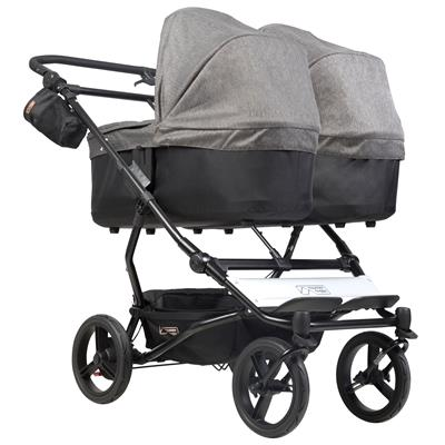Reiswieg duet V3 Mountain Buggy - herringbone