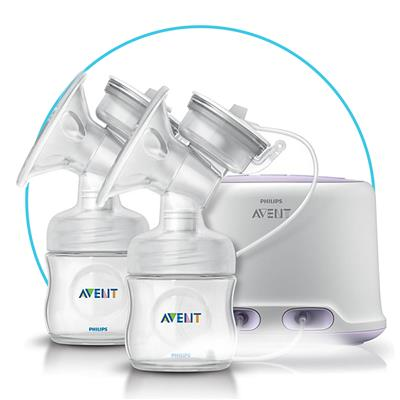 Borstpomp natural duo Avent