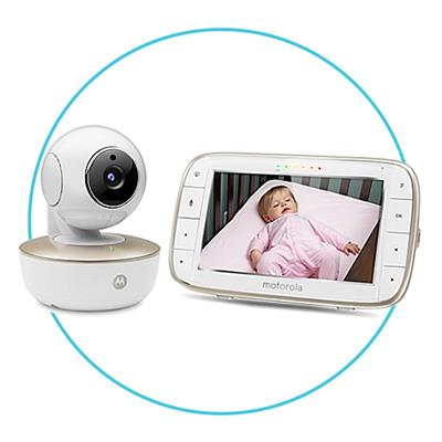 Wifi video monitor 5'' + camera Motorola Baby