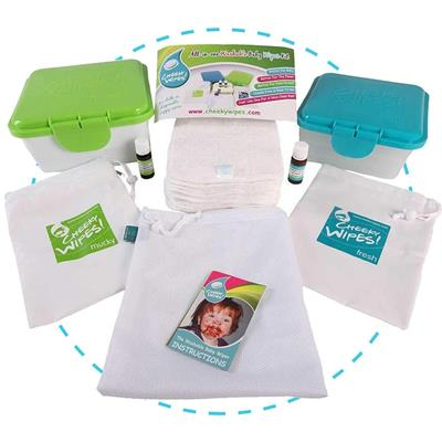 Babydoekjes all-in-one wit Cheeky Wipes