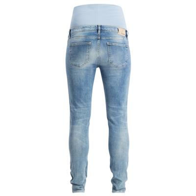 Jeansbroek skinny Avi Light Aged Noppies Maternity - light blue denim