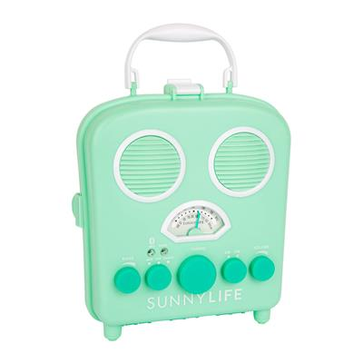 Speaker beach sounds lucite green Sunnylife