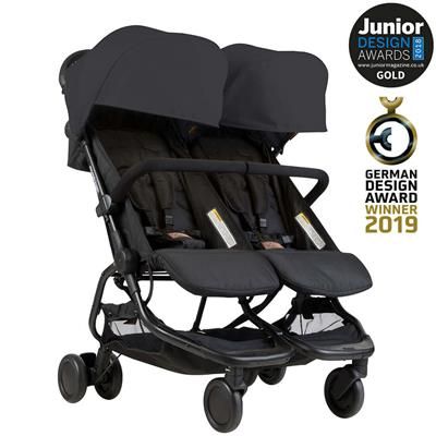 Buggy nano duo V1 Mountain Buggy - black