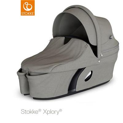 Reiswieg Xplory V6 Stokke - brushed grey