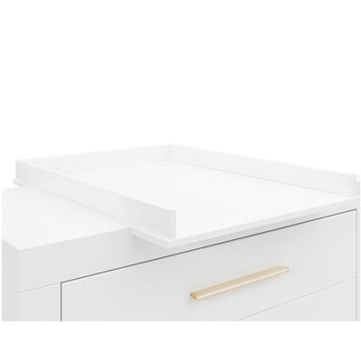 Verlengstuk commode Lisa Bopita - wit - naturel