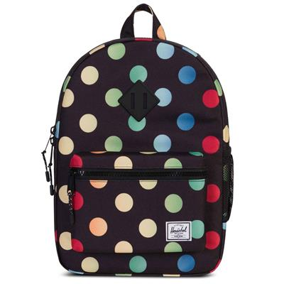 *Rugzak heritage youth black rainbow Herschel