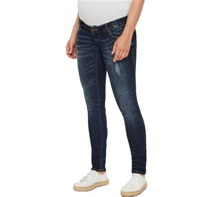 Jeansbroek Lola slim blue Mamalicious - blue denim