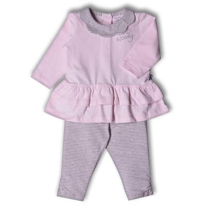 Pyjama Mini Woody - pink star