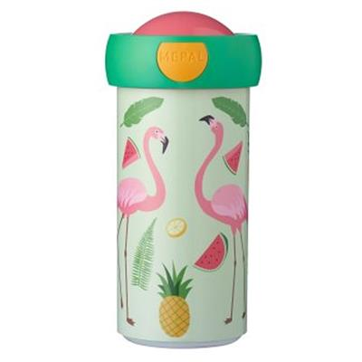 Schoolbeker campus 300ml Mepal - tropical flamingo