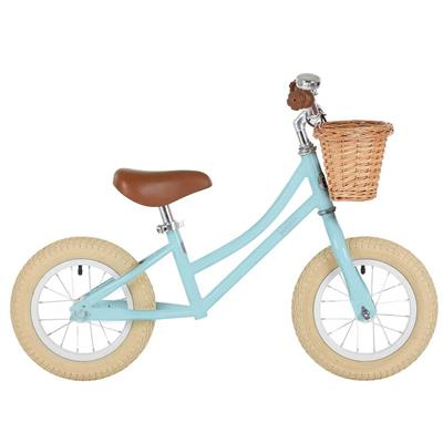Loopfiets gingersnap balance bike Bobbin - duck egg blue