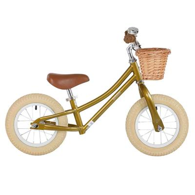 Loopfiets gingersnap balance bike Bobbin - gold