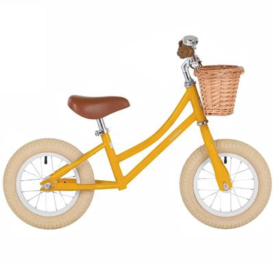 Loopfiets gingersnap balance bike Bobbin - yellow