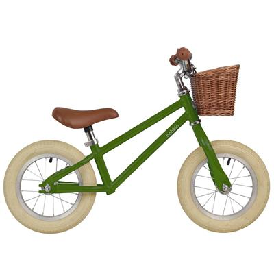 Loopfiets moonbug balance bike Bobbin - pea green