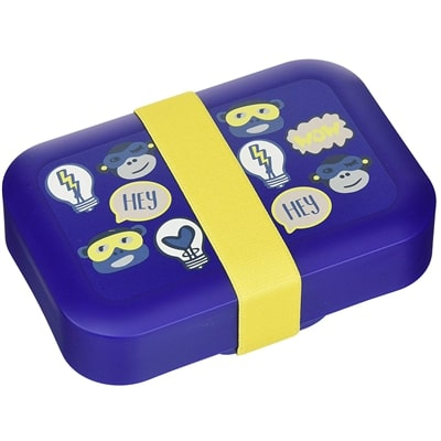 Lunchbox kids fun shapes Kipling - dark blue