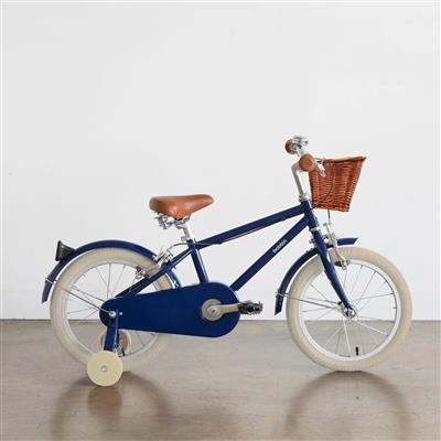 "Fiets 16"" moonbug Bobbin - blueberry (cream tyres)"