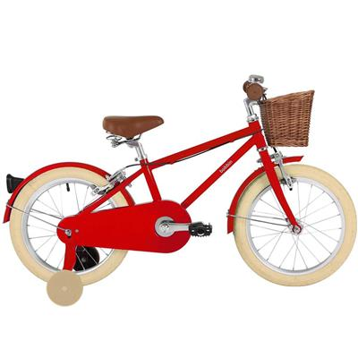 "Fiets 16"" moonbug Bobbin - gloss red"
