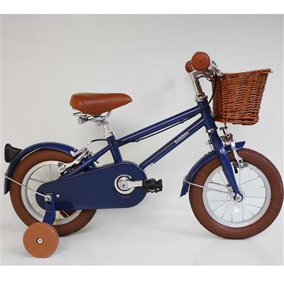 "Fiets 12"" moonbug Bobbin - blueberry"