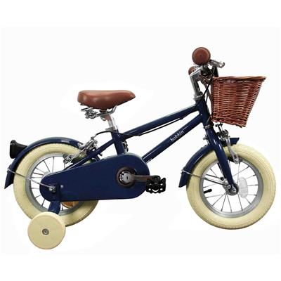 "Fiets 12"" moonbug Bobbin - blueberry (cream tyres)"
