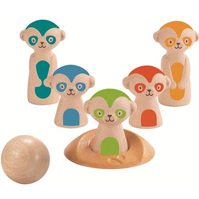 Stokstaartjes bowling PlanToys