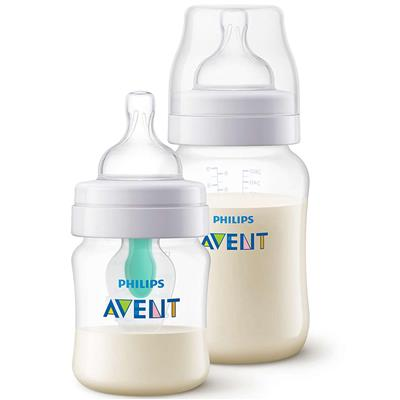 Zuigfles 125+260ml anti-colic Avent