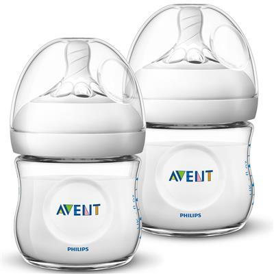 Zuigfles 125ml duo natural 2.0 Avent