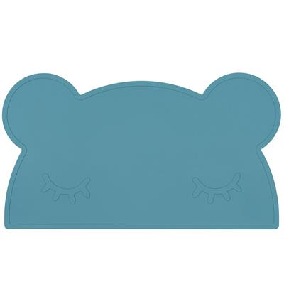 *Placemat bear silicone we might be tiny - blue dusk