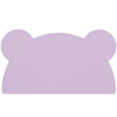 Placemat bear silicone we might be tiny - lilac